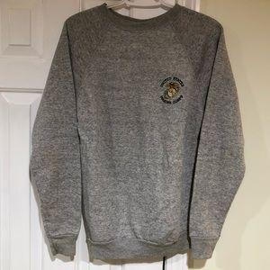 Vintage US Marine Corps Mens Medium Sweatshirt